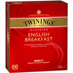 Twinings Tea Bags English Breakfast Pack 100